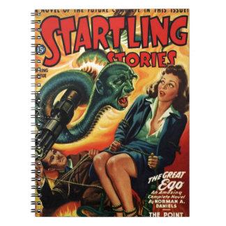 Cuaderno Hombre de la serpiente