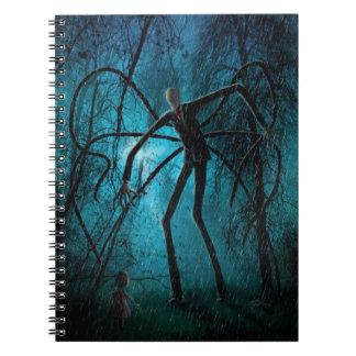 Cuaderno Hombre delgado y el alma perdida