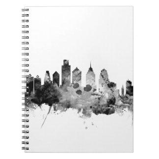 Cuaderno Horizonte de Philadelphia Pennsylvania