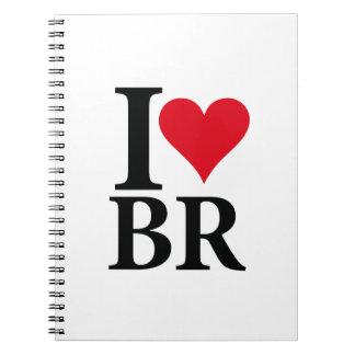 Cuaderno I Love Brasil BR Edition