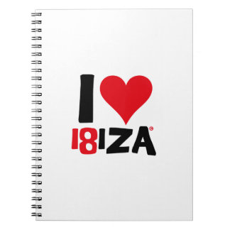 Cuaderno I love Ibiza 18IZA Edición Especial 2018