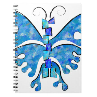 Cuaderno Icelonius - mariposa azul del hielo