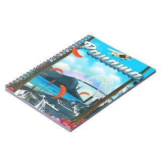 Cuaderno Impresión de las vacaciones del río de Panamá