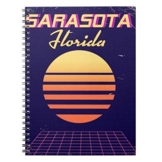 Cuaderno Impresión del viaje del vintage de los años 80 de