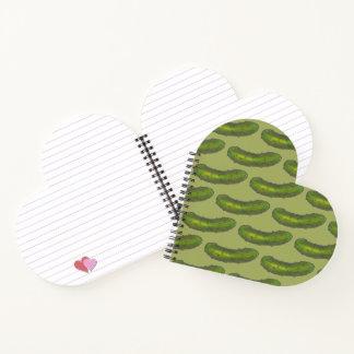 Cuaderno Impresión kosher verde crujiente Foodie de la