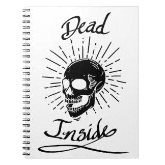 Cuaderno interior de los muertos