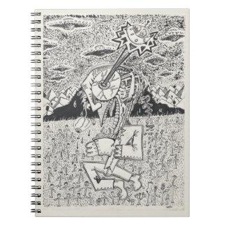 Cuaderno Invasión extranjera, o, el sembrador