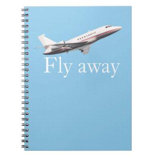 Cuaderno Ir volando