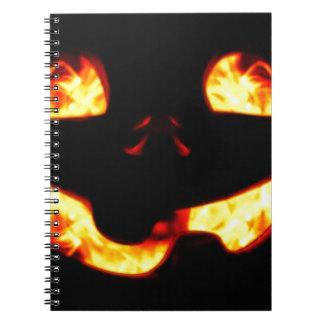 Cuaderno Jack ardiente