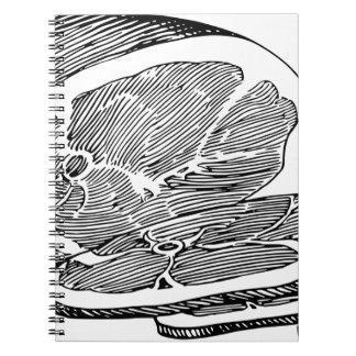 Cuaderno Jamón