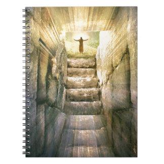 Cuaderno Jesús en la resurrección vacía de Pascua de la