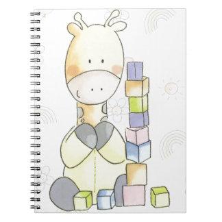Cuaderno Jirafa