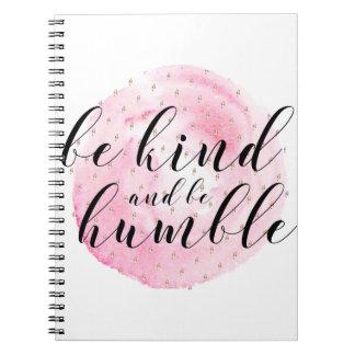 Cuaderno La acuarela sea buena y sea cita humilde
