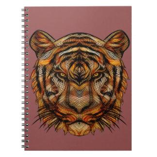 Cuaderno La cabeza 1a del tigre