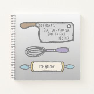 Cuaderno La cocina de la abuela equipa recetas