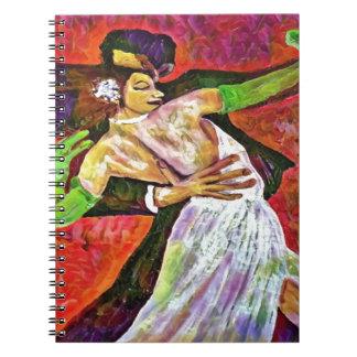 Cuaderno la danza