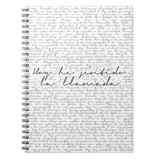 Cuaderno La Llamada