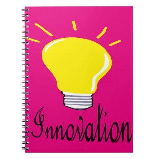 Cuaderno la luz de la innovación