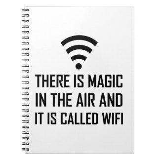 Cuaderno La magia en el aire es Wifi