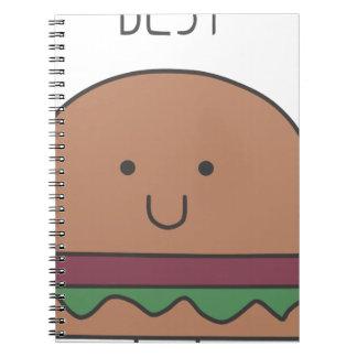 Cuaderno la mejor hamburguesa