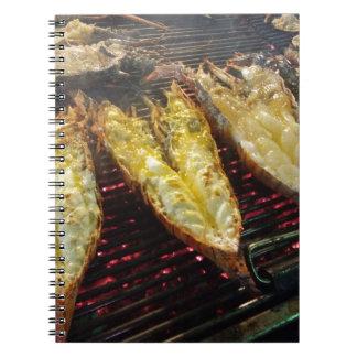 Cuaderno Langosta de la barbacoa