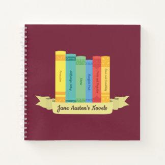 Cuaderno Las novelas de Jane Austen III