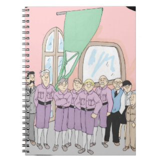 Cuaderno Laszlo y Edgar