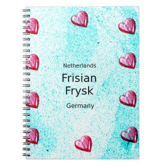 Cuaderno Lengua del Frisian (Alemania y Países Bajos)