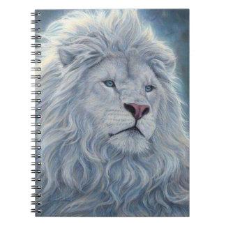 Cuaderno León blanco