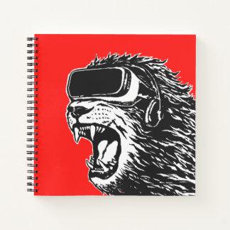 Cuaderno León de VR