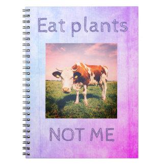 CUADERNO libre de la crueldad para el vegano,
