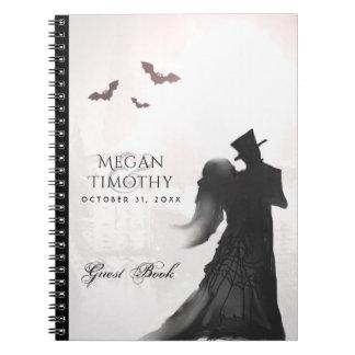 Cuaderno Libro de visitas a juego de la silueta de los