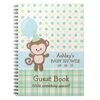 Cuaderno Libro de visitas de la fiesta de bienvenida al