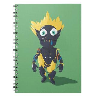Cuaderno lindo de la foto del zombi (80 páginas