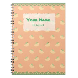Cuaderno lindo del modelo del mango