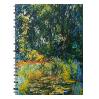 Cuaderno Lirios de agua de Monet