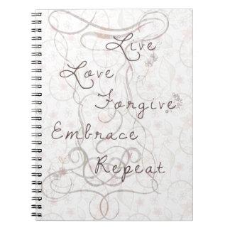 Cuaderno Live love forgive