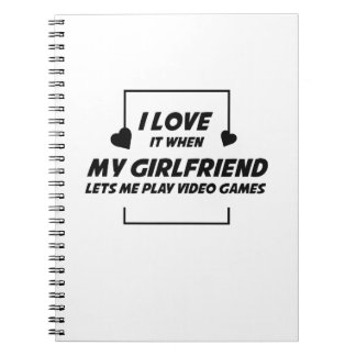 Cuaderno Lo amo cuando mi novia me dejó PlayVideoGames