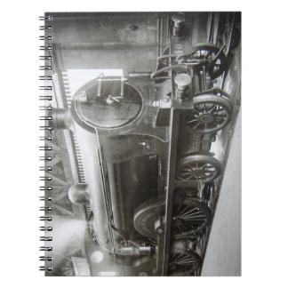 Cuaderno Locomotora de vapor (señora de Avenal)