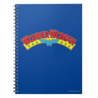 Cuaderno Logotipo 1987 del cómic de la Mujer Maravilla