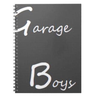 Cuaderno Logotipo de los muchachos del garaje