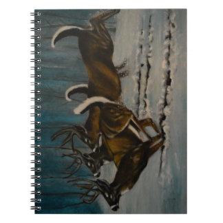 Cuaderno Los 3 ciervos