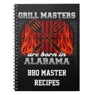 Cuaderno Los amos de la parrilla nacen en Alabama