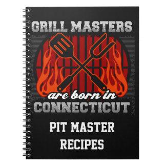 Cuaderno Los amos de la parrilla nacen en Connecticut