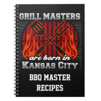 Cuaderno Los amos de la parrilla nacen en Kansas City