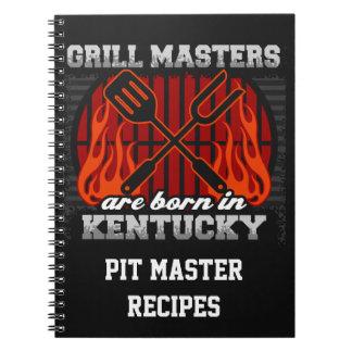 Cuaderno Los amos de la parrilla nacen en Kentucky