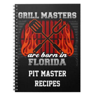 Cuaderno Los amos de la parrilla nacen en la Florida