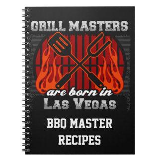 Cuaderno Los amos de la parrilla nacen en Las Vegas Nevada