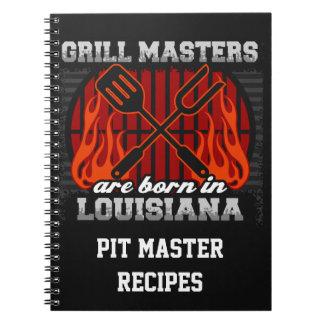 Cuaderno Los amos de la parrilla nacen en Luisiana