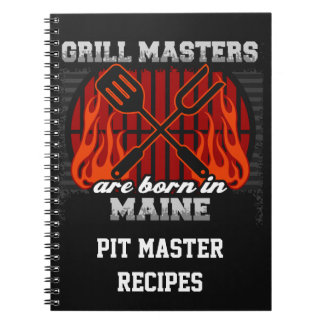 Cuaderno Los amos de la parrilla nacen en Maine